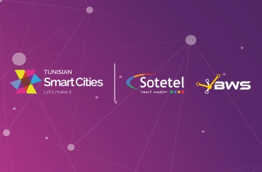 Sotetel and BWS sponsor the national caravan TUNISIAN SMART CITIES